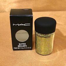 Mac Glitter Brillants 4.5g/0.15oz 3D BRASS GOLD New in Box!