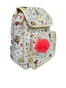 Disney Animators Collection BackPack Bag Tinker Bell Aurora Moana Brand New 🏷..