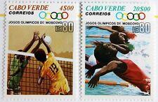 Cape Verde – 1980 Olympics Pair $4 & $20 – UM (MNH) (R4)