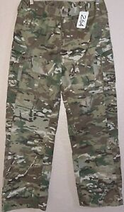 US Army/USAF Multicam OCP Massif 2-Piece FR Flight Suit Pant S/R Used 5_264