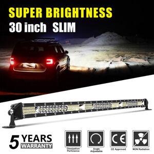"""30"""" 1100w Barre LED de Travail Flood Spot combo Pour Voiture Camion Auto Moto"""