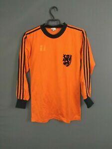 Holland Netherlands Match Worn Jersey Trikot Maglia 1978 1979 Shirt Adidas Erima