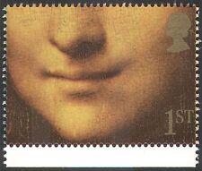 GB 1991 Smiles/Greetings/Mona Lisa/Painting 1v (n30819)