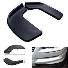 "Pair 22"" ABS Winglet Style Car Front Bumper Shovel Diffuser Splitter Canard Lip"