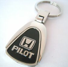 PILOT KEY CHAIN RING FOB HONDA TOURING SUV V6 EX 2.0T EX-L 2018 2019 BLACK NEW