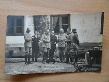Alte Postkarte Unser Kaiser Wilhelm II. mit seiner Jagdgesellschaft ungelaufen