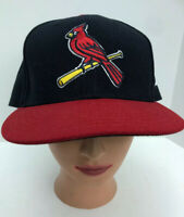 New Era St. Louis Cardinals ALT 59Fifty Fitted Hat MLB Cap RED / NAVY-7-5/8