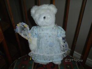 Avon Bear Hat Box Teddies Buttercup 12 Inch Wtags
