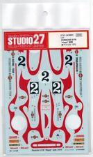"Studio 27 1/24 1970 Porsche 917K ""Hippy"" Late Decal Set #ST27-DC682C Sealed"