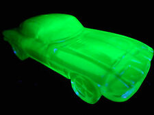Blue Vaseline glass 1963 split window Corvette chevrolet uranium car cobalt race