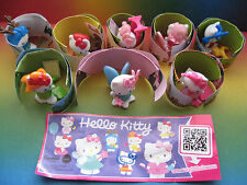 HELLO KITTY  COMPLETE SET + ALL PAPERS @@@@ MAGIC KINDER  SURPRISE ITALY