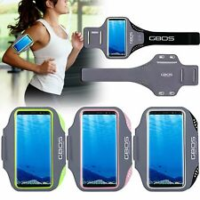GBOS® Armband For Samsung Galaxy S8 Plus With Adjustable Gym Running Exercise