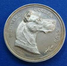 Stuttgart-Bronzemedaille 1896 (Mayer&Wilhelm) - Internationale Hunde-Ausstellung