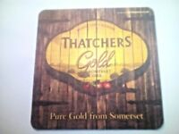 THATCHERS GOLD - CIDER   -  Cat No'26 -  Beermat / Coaster