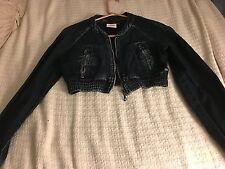 Miss Sixty Short Denim Jacket