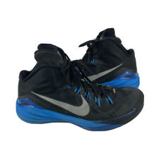 Nike Hyperdunk 2014 Sneakers Shoes653640-004 Basketball Mens Sz 9.5 Black/Blue