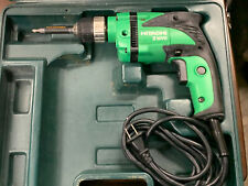 """HITACHI D10VH 3/8"""" Corded Variable Speed Reversible 6Amp Drill With Case"""