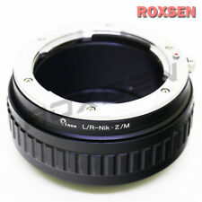 Leica R L/R LR lens To Nikon Z mount macro focusing helicoid adapter camera Z50