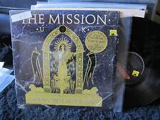 THE MISSION U.K. God's Own Medicine uk gods '87 lp Sisters of Mercy w/shrink oop