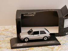 MINICHAMPS VW GOLF GTI 1985 SILVER  ART.400054120 NEW 1:43