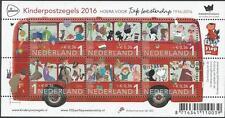 Nederland - Kinderzegels blok - 2016