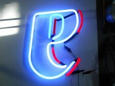 Neon Beer Sign Parts Lite Beer *e* In Two Colors. Great Cond.