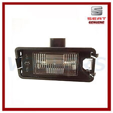 Genuine Seat Leon MK1, Altea, Toledo MK3, Ibiza MK4 Rear Number Plate Lamp