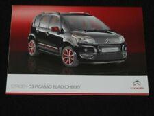 Revues et manuels automobile brochures C3