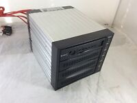 Chieftec SNT-3141-SATA 4-bay SATA Hot Swap RAID Hard Drive Array Cage