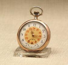 OMEGA Taschenuhr Herren Silber Uhr Handaufzug Alte silver watch mechanische 掛表