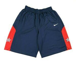 Nike 2012 Olympics Team USA Basketball Team Shorts Mens XXL Navy Red
