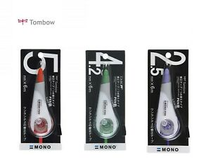 Tombow Mono PXN series Correction Tape Choose from 3 Type CT-PXN