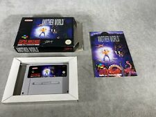 Snes game-another world-very good condition-pal noe