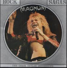 MAGNUM CHRIS TETLEY INTERVIEWS RARE Vinyl Record Picture Disc