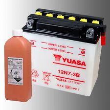 YUASA 12N7-3B Motorradbatterie 12V 7Ah inkl. Säurepack