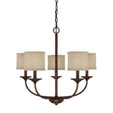 Capital Lighting Loft 5 Light Chandelier, Burnished Bronze - 3925BB-468