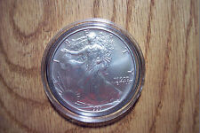 1993 US Mint American Silver Eagle BU From Mint Roll 010