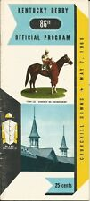 1960 - 86th Kentucky Derby program in Excellent Condition - VENETIAN WAY