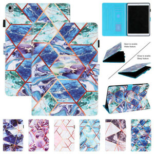 Magnetic Stand Marble Cover Case Fr iPad 5 6 7 8th 9.7 10.2 10.9 4th 11 2020 7.9