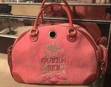 JUICY COUTURE PET CARRIER DOG CAT handbag purse