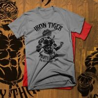 Muay Thai T-Shirt Thai Boxing Sak Yant Kickboxer Full Contact Martial Iron Tiger