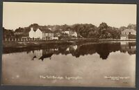 Postcard Lymington New Forest Hampshire early view The Toll Bridge RP Woodford
