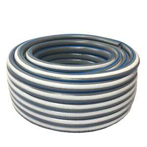 """Reinforced Garden Hose 10m 20m 25m 30m 50m 4 Layer Outdoor Watering Pipe 1/2"""""""