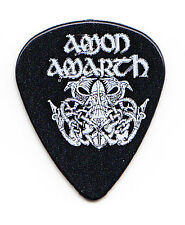 Amon Amarth Logo Black Guitar Pick #2 - 2017