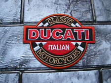 Aufnäher Patch Ducati Motorcycles Motorradsport Motorrad Biker Racing Tuning GT