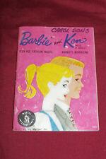 Rare 1961 Barbie Ken Doll Clothes Catalog Vintage Mattel Fashion Toy Paperwork