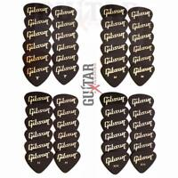 12 Gibson Standard Guitar Picks Your Choice Of Size Thin. Med. Heavy Or XHeavy