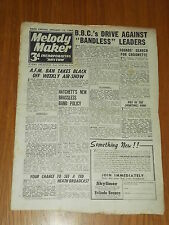 MELODY MAKER 1946 #651 JAN 12 JAZZ SWING HATCHETT TED HEATH ROBERTO INGLEZ