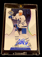2019-20 ULTIMATE COLLECTION AUSTON MATTHEWS ON-CARD AUTO SP! MAPLE LEAFS