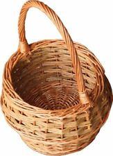 Red Hamper Small Rustic Egg Shopping Basket